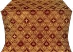 Kingdom silk (rayon brocade) (claret/gold)