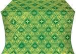 Kingdom silk (rayon brocade) (green/gold)