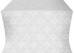 Kingdom silk (rayon brocade) (white/silver)