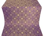 Ancient Byzantium metallic brocade (violet/gold)