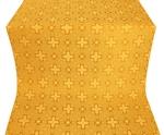 Ancient Byzantium silk (rayon brocade) (yellow/gold)