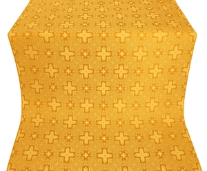 Ancient Byzantium silk (rayon brocade) (yellow/gold)
