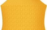 Alpha-and-Omega metallic brocade (yellow/gold)