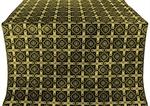 Ryazan metallic brocade (black/gold)