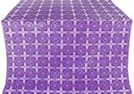 Ryazan metallic brocade (violet/silver)