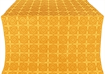Ryazan silk (rayon brocade) (yellow/gold)