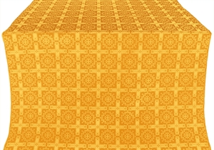 Ryazan silk (rayon brocade) (yellow/gold)
