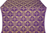 Koursk metallic brocade (violet/gold)