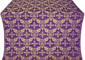 Koursk metallic brocade (violet/gold)
