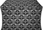 Koursk metallic brocade (black/silver)