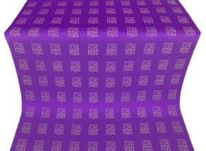 Abakan metallic brocade (violet/silver)