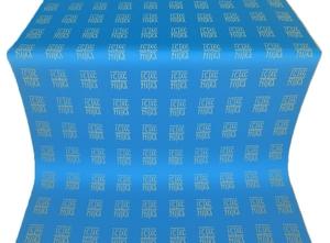 Abakan silk (rayon brocade) (blue/gold)