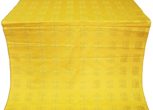Abakan silk (rayon brocade) (yellow/gold)
