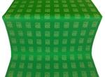Abakan silk (rayon brocade) (green/gold)