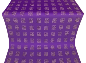 Abakan silk (rayon brocade) (violet/gold)