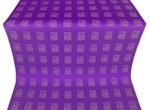 Abakan silk (rayon brocade) (violet/silver)