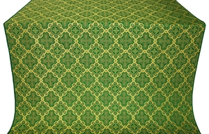 Kazan' metallic brocade (green/gold)