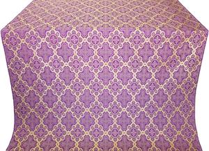 Kazan' metallic brocade (violet/gold)