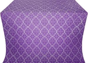 Kazan' metallic brocade (violet/silver)
