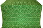 Arkhangelsk metallic brocade (green/gold)