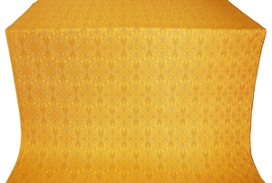 Arkhangelsk silk (rayon brocade) (yellow/gold)