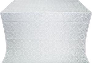 Pavlov Pokrov metallic brocade (white/silver)