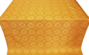 Vasiliya silk (rayon brocade) (yellow/gold)