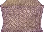 Vasiliya silk (rayon brocade) (violet/gold)