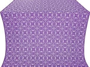 Vasiliya silk (rayon brocade) (violet/silver)