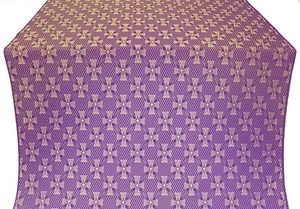 Petrograd metallic brocade (violet/gold)