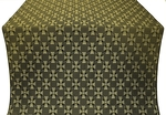 Petrograd silk (rayon brocade) (black/gold)