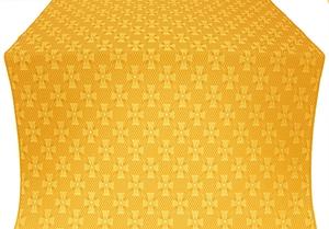 Petrograd silk (rayon brocade) (yellow/gold)