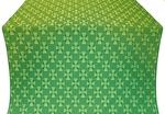 Petrograd silk (rayon brocade) (green/gold)