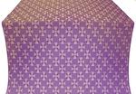 Petrograd silk (rayon brocade) (violet/gold)