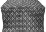 Petrograd silk (rayon brocade) (black/silver)