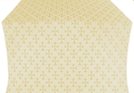 Petrograd silk (rayon brocade) (white/gold)