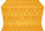 Rose metallic brocade (yellow/gold)