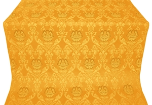 Rose metallic brocade (yellow/gold)