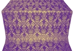 Rose metallic brocade (violet/gold)