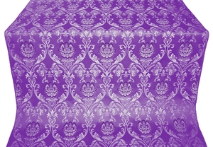 Rose metallic brocade (violet/silver)