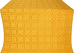 Murom silk (rayon brocade) (yellow/gold)