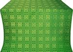 Murom silk (rayon brocade) (green/gold)