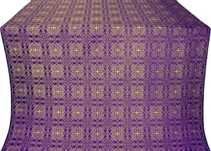 Murom silk (rayon brocade) (violet/gold)