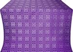 Murom silk (rayon brocade) (violet/silver)