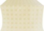 Murom silk (rayon brocade) (white/gold)