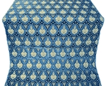 Chernigov silk (rayon brocade) (blue/gold)