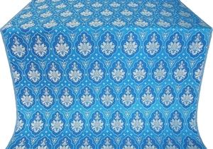 Chernigov silk (rayon brocade) (blue/silver)