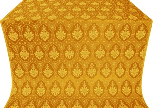Chernigov silk (rayon brocade) (yellow/gold)