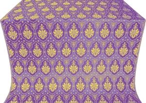 Chernigov silk (rayon brocade) (violet/gold)