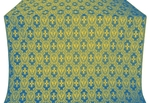 Seraphim silk (rayon brocade) (blue/gold)